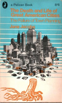 Pelican, paperback cover, graphic design, urban design, architecture, jane jacobs