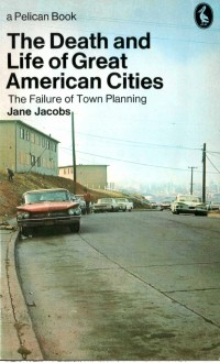 Pelican, paperback cover, graphic design, Jane Jacobs, Max Yavno, urban design, architecture, architect
