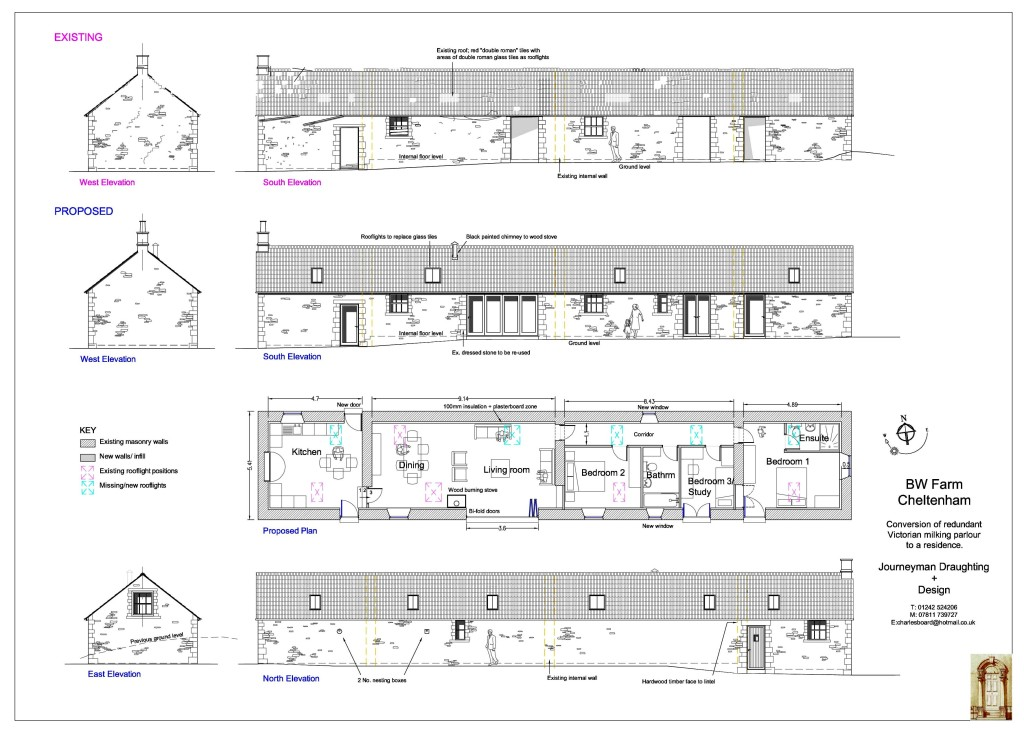Planning drawings for Building design jobs