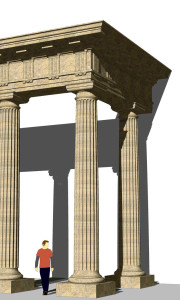 Textured sketchup model with detail, Cheltenham, Gloucestershire, 3d modelling, architect, planning