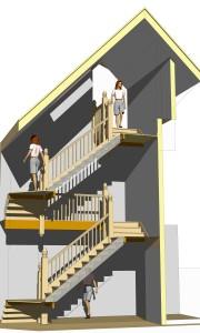 Architect's 3D model