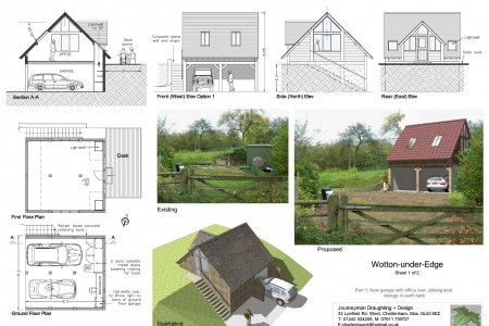 Planning drawings, Journeyman Draughting, Job-sheet, Grade 2 listed