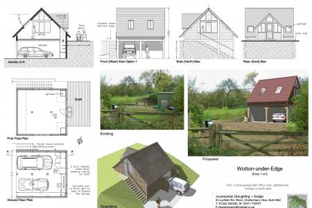 Planning drawings, Journeyman Draughting, Job-sheet, Grade 2 listed