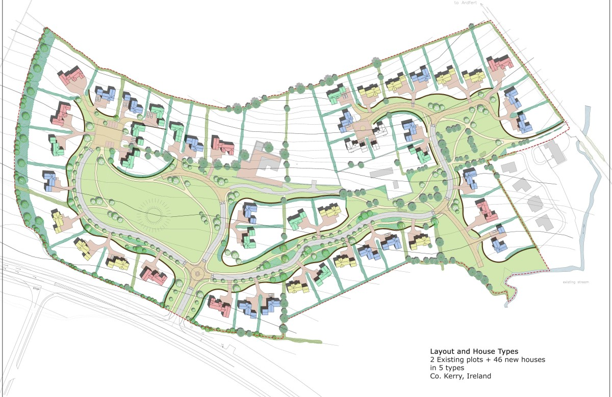 Housing Layout, CAD drafting, Architect, architectural designer, Cheltenham Gloucestershire